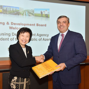 A delegation of the State Agency for Housing Construction under the President of the Republic of Azerbaijan visited the Republic of Singapore