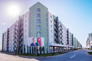 803 apartments were allocated to military servicemen from the Hovsan Residential Complex