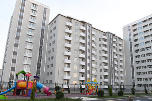 "Residents of ""Sovetski"" start moving into new apartments allocated for them in the Yasamal Residential Complex"