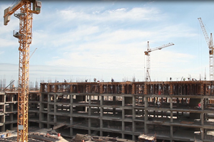 Construction of the Hovsan Residential Complex, the second project of MIDA, is continuing with rapid pace