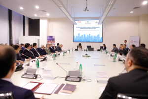 "An event on the topic ""Cooperation in the Affordable Housing Market"" takes place"