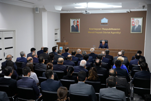 A reporting-back meeting on the results of the activities of the State Housing Development Agency in the course of 2018 takes place