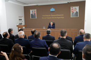 3rd anniversary of establishing the State Housing Development Agency of the Republic of Azerbaijan is celebrated