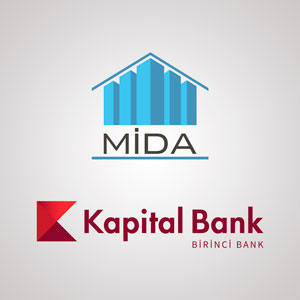 "MIDA started cooperation with ""Kapital Bank""."