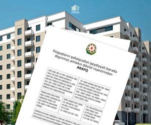 Pre-registration of property rights of the first affordable housing has been provided.