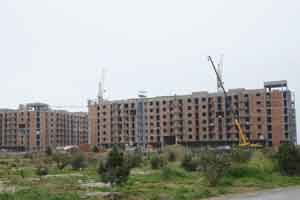 ITV prepares a plot in connection with the construction of the Hovsan Residential