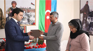 Affordable apartments  presented to families of our 2 servicemen martyred in the Patriotic War