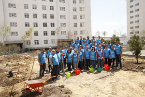 MIDA and IDEA organize tree planting action dedicated to the birthday of the national leader Heydar Aliyev